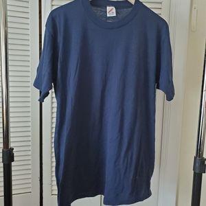 Men's Vintage XL Single Stitch Sleeve Jerzees Tee